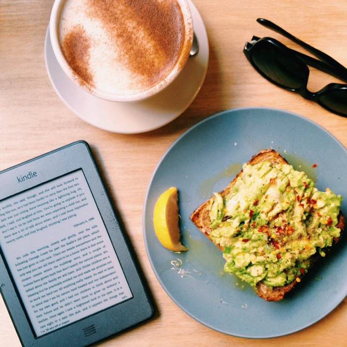 Avocado toast at Two Hands, New York City
