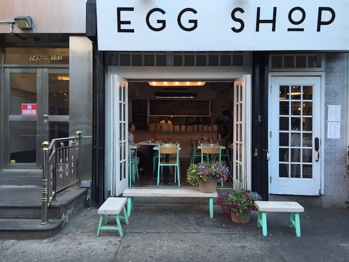 Egg Shop breakfast cafe in SoHo, New York City