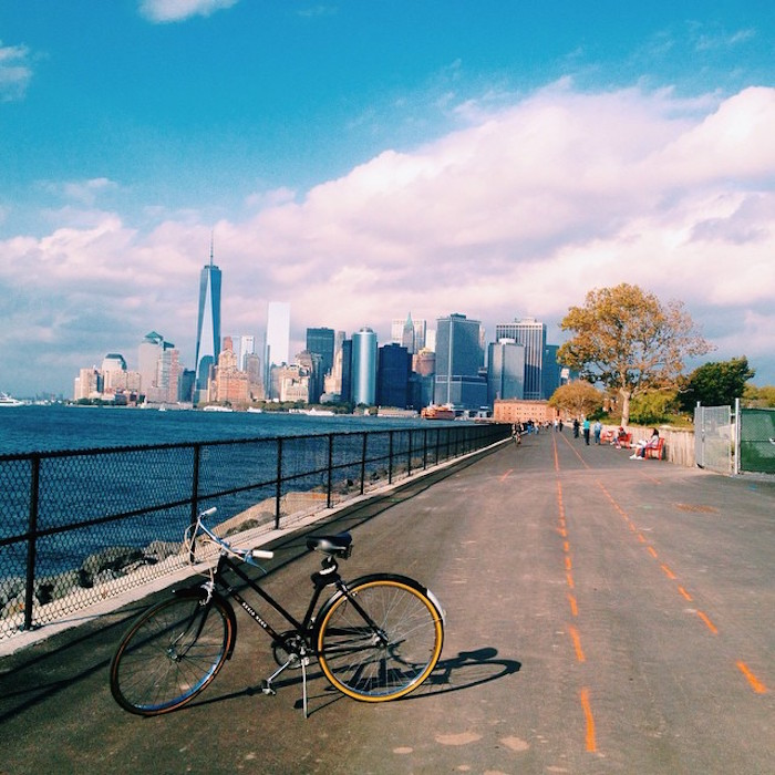 Biking in New York City