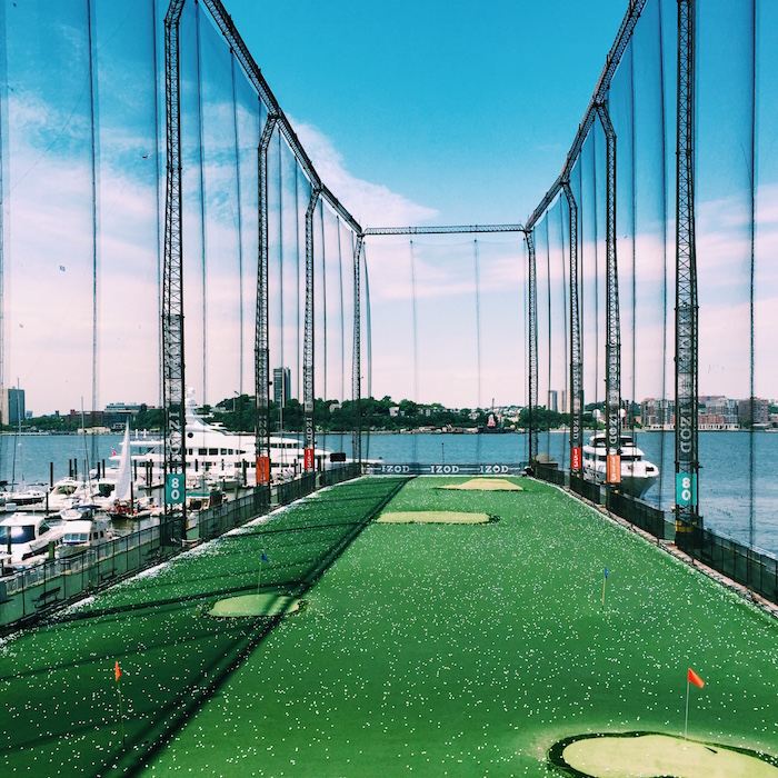 Chelsea Piers Golf Club in New York City
