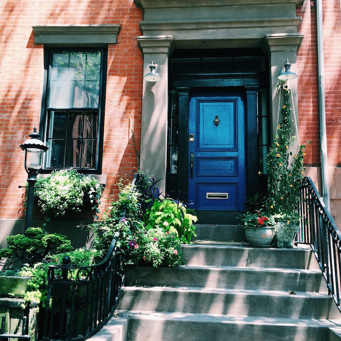 Houses in Brooklyn Heights, New York