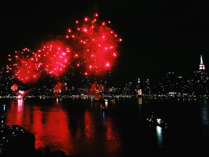 4th of July Fireworks show in New York City