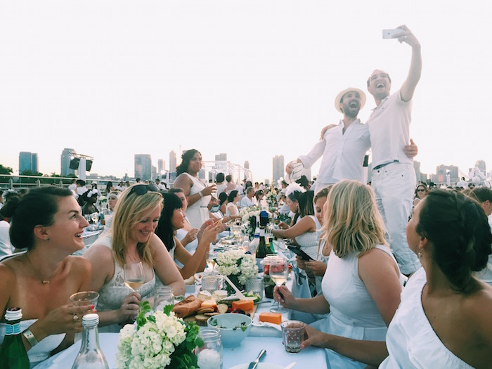 Diner En Blanc New York City 2015