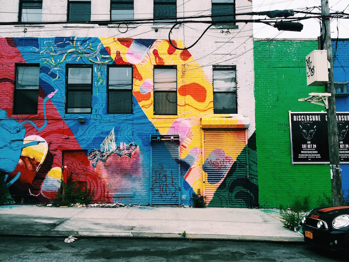 Street art in Bushwick, Brookyn in New York City