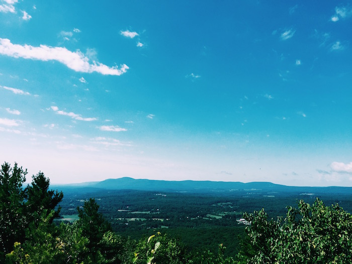 Monument Mountain in the Berkshires