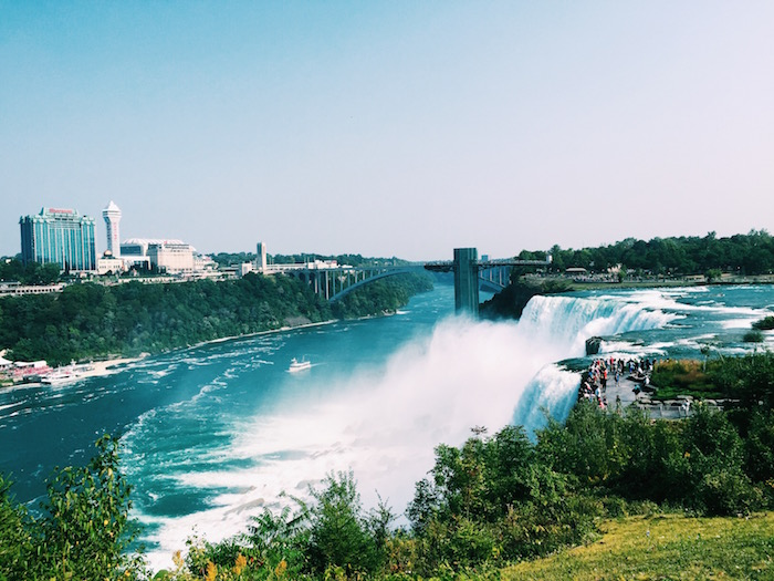 Niagara Falls on the USA side