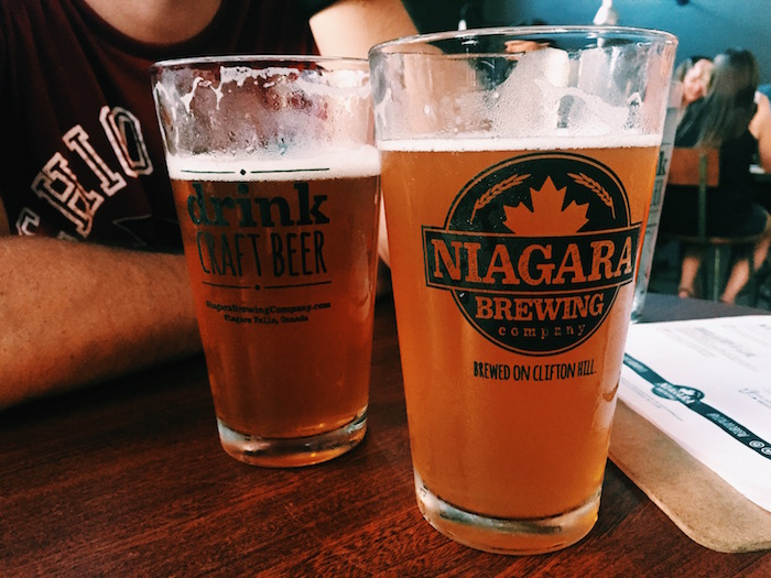 Niagara Brewing Company in Clifton Hill