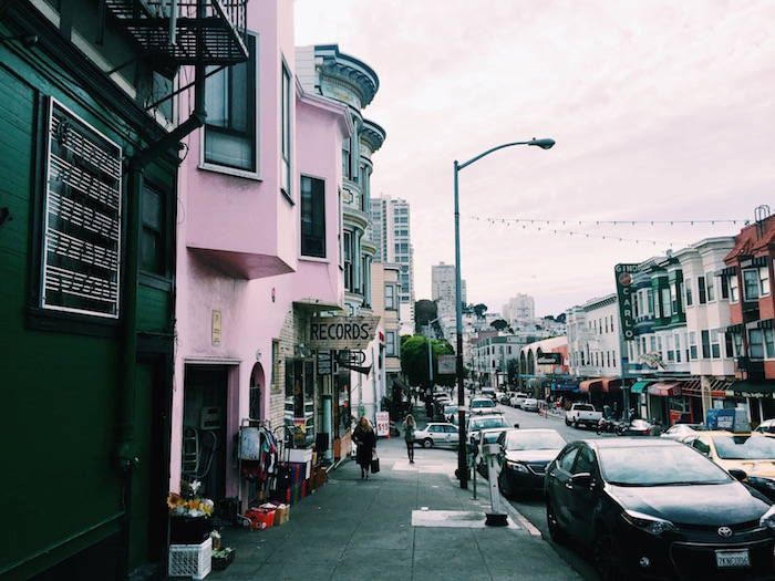 North Beach in San Francisco, California