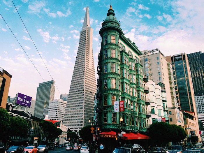 Transamerica Building in San Francisco, California