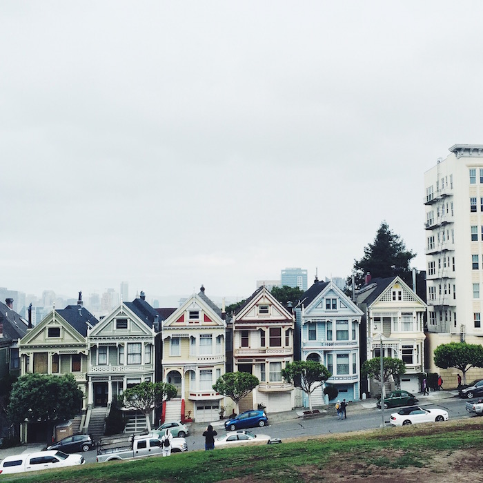 Painted Ladies at Alamo Square in San Francisco, California