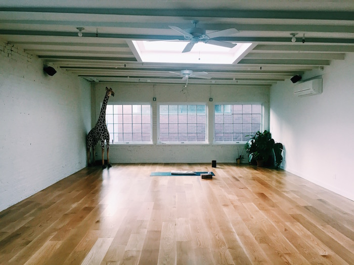 Skyting Yoga Studio in Chinatown, New York