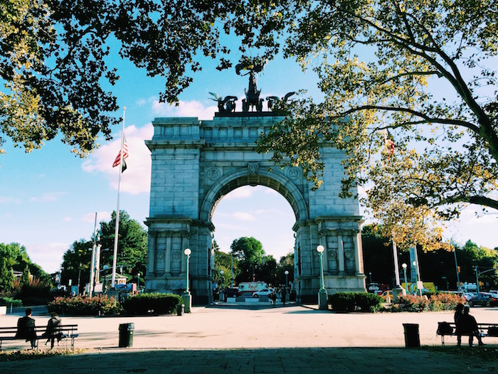 Arch near Prospect Park, Brooklyn