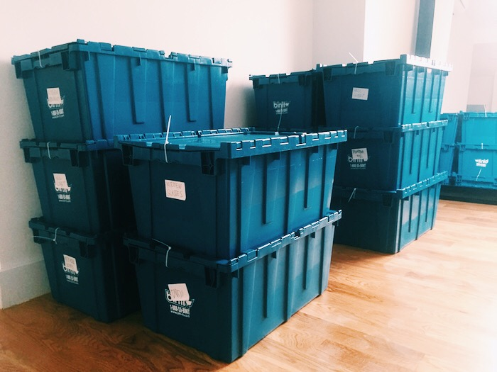 Bin-It Reusable Moving Plastic Boxes in NYC
