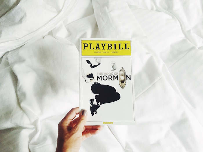 The Books of Mormon playbill