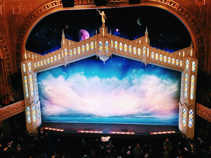 Book of Mormon on Broadway in New York City