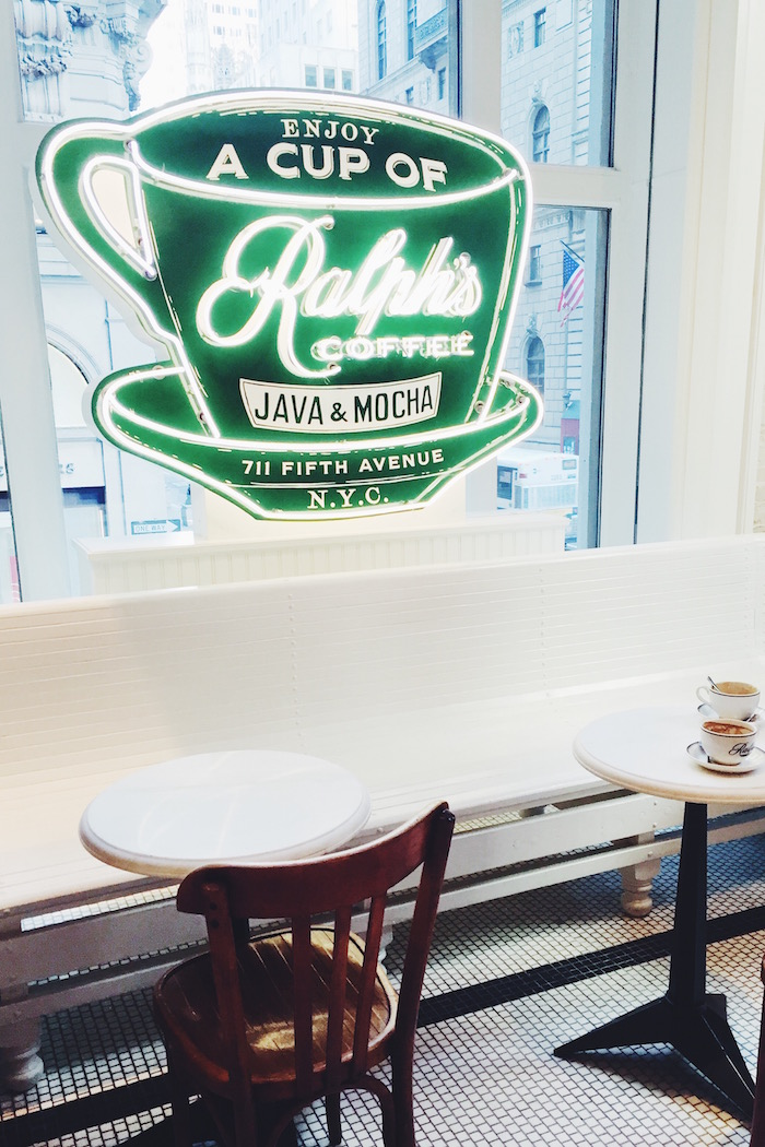 Ralph's Coffee Shop, New York City