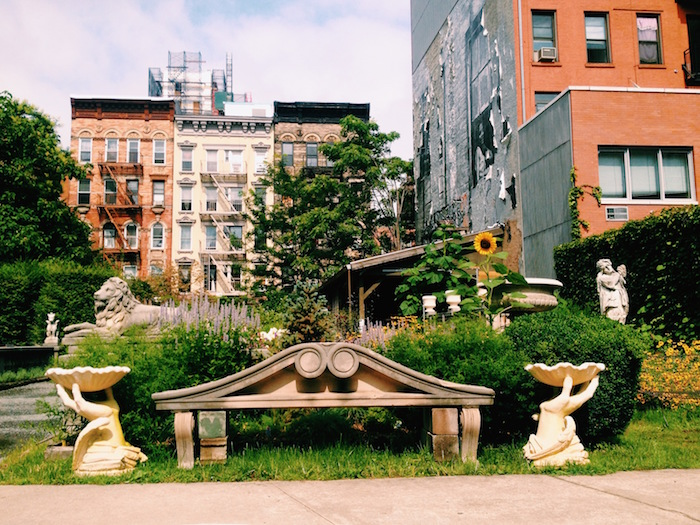 Elizabeth Street Garden in New York City