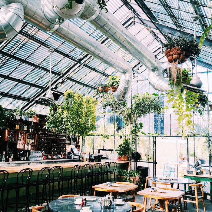 The Commissary At The Line Hotel In Downtown Los Angeles C Est