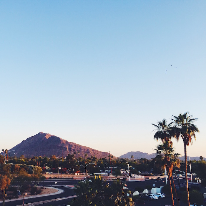 Hotel Valley Ho in downtown Scottsdale, Arizona