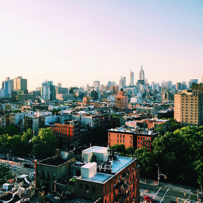 The view from Mr. Purple, New York City