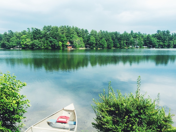 Weekend at a lakehouse in the Berkshires