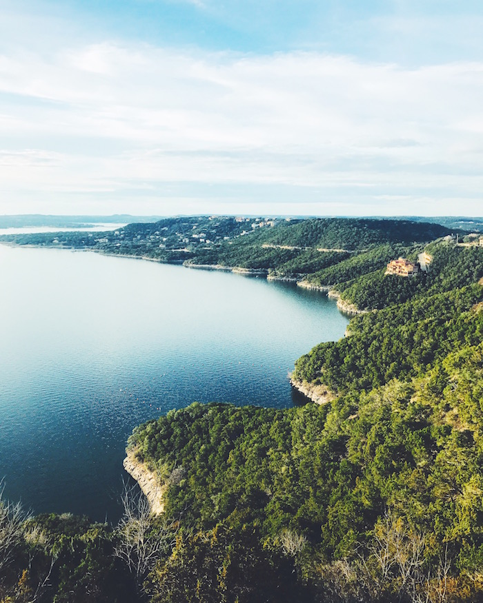 View of Lake Travis from Oasis