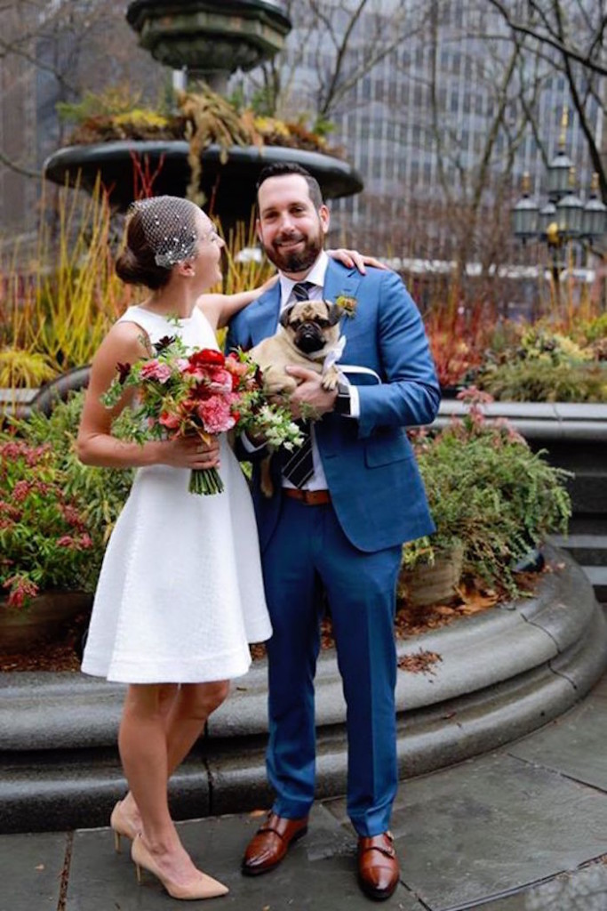 Christine Amorose & David Merrill NYC Elopement