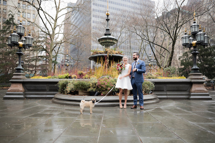 C'est Christine New York City Elopement by Mat Rick
