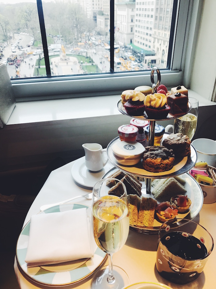 High tea at Bergdorf Goodman in New York City