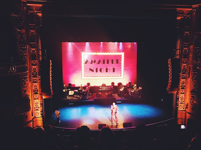 Amateur Night at the Apollo in Harlem, New York City