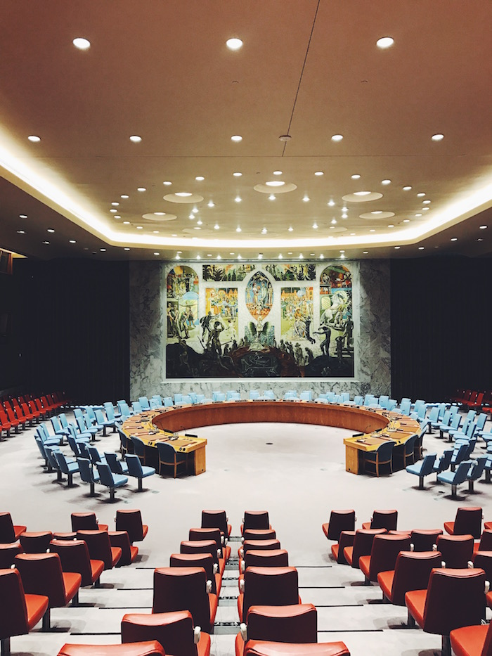 A tour of the United Nations in New York City