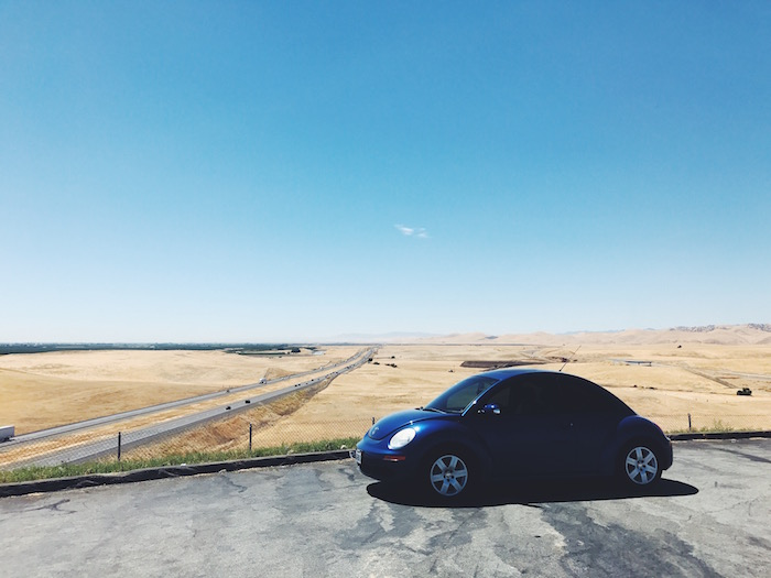 Driving the 5 in Central California