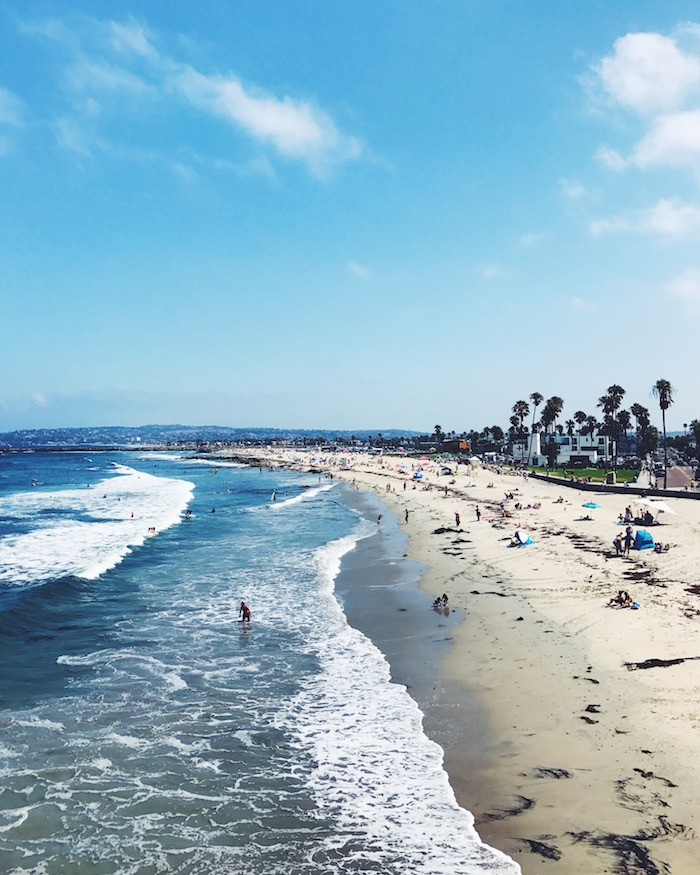 Ocean Beach in San Diego, California
