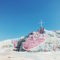 Salvation Mountain in the California desert