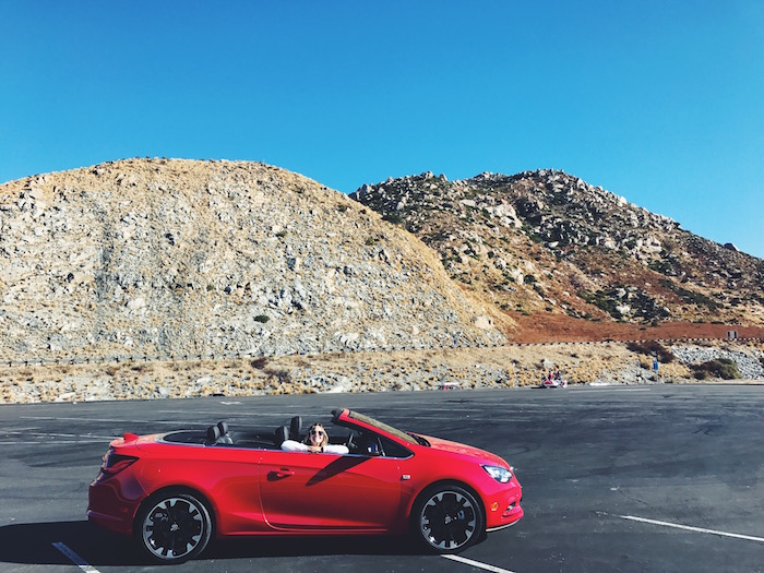 Buick Cascada road trip in California