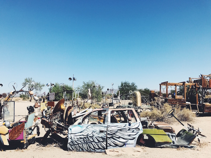 East Jesus Art Installation at Slab City, California