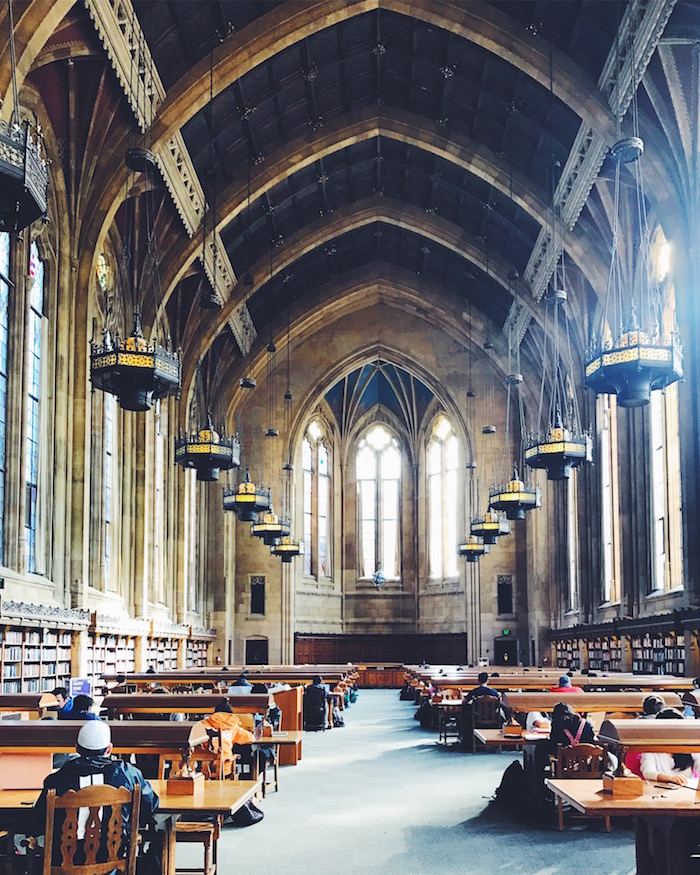 Suzzallo Library at University of Washington, Seattle