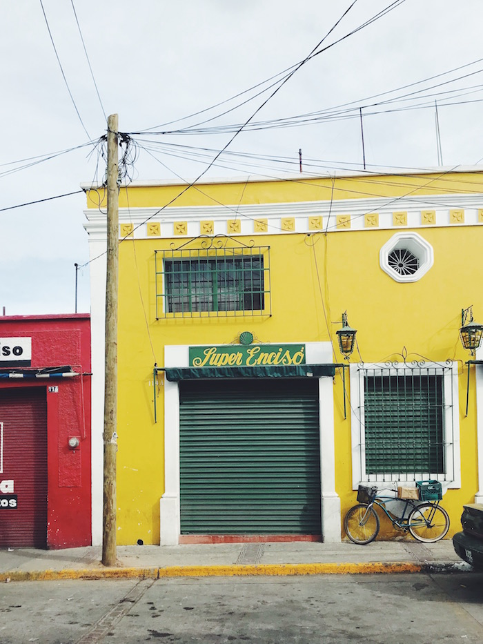Colorful building in Tequila, Jalisco