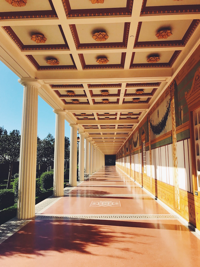 Getty Villa in Malibu, California