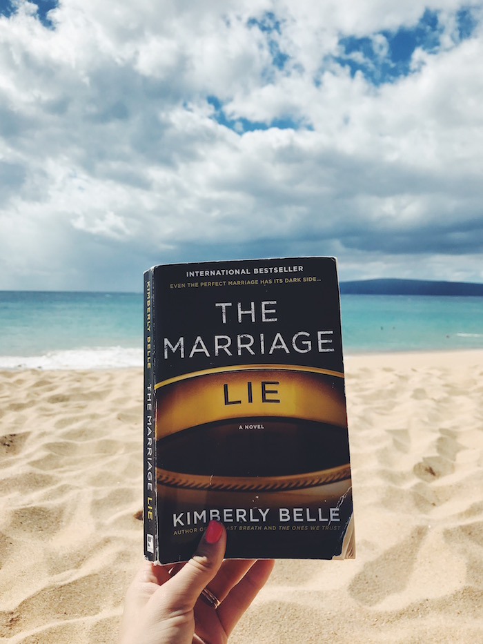 Reading The Marriage Lie in Maui