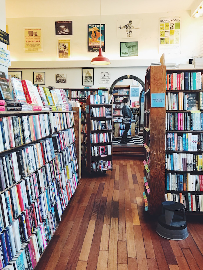 City Lights Bookstore in San Francisco