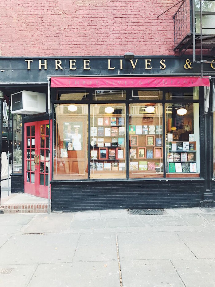 Three Lives & Company Books in West Village, New York City