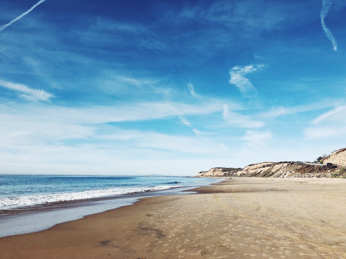 Crystal Cove State Park in Orange County, California