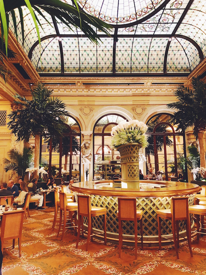 Palm Court at the Plaza Hotel in New York City