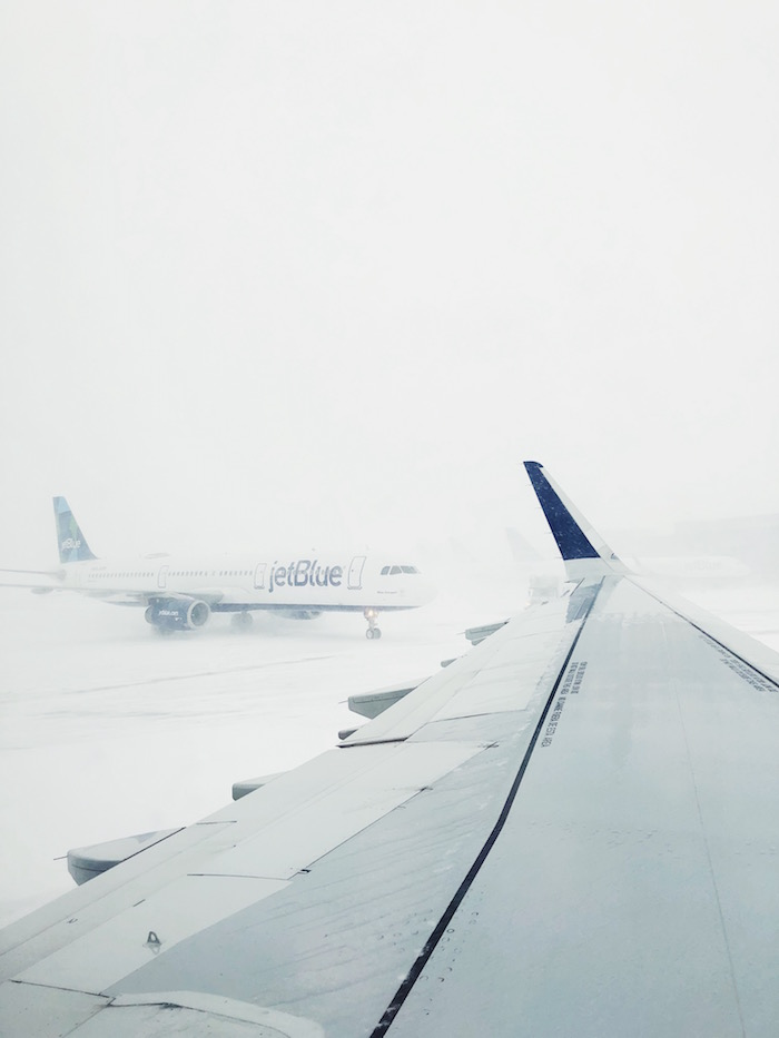Dealing with a snowstorm at JFK on JetBlue