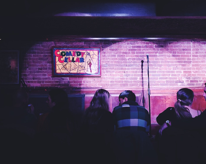 Comedy Cellar date night in NYC