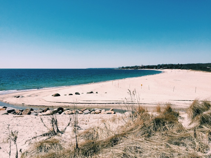 Harkness State Beach In New London Connecticut